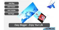 Blogger easy