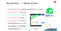 Buy sell posts on market facebook fanpages