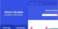 Calculator altcoin 1 crypto 000 currencies fiat 31