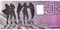 Campaign 2in1 my best date my friend campaign