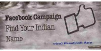 Campaign facebook find name indian your