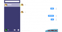 Chat socio php messaging live ajax