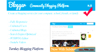 Community blogger blogging platform