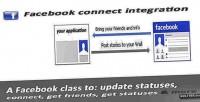 Connect facebook api integration