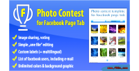 Contest photo for tab page facebook
