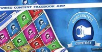 Contest video facebook app