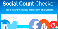 Count social checker