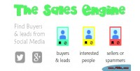 Engine find buyers leads media social on engine