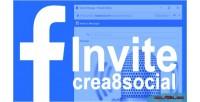 Facebook crea8social invite