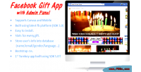 Facebook gift app with panel admin