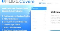 Facebook hugecovers script sharing covers