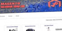 Facebook magento shop tab