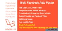 Facebook multi auto poster