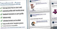 Viral facebook web app animal favorite