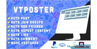 Facebook vtposter marketing tool