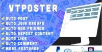 Facebook vtposter marketing tool