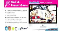 Find facebook application game reveal