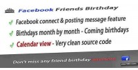 Friends facebook app awesome birthday