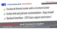 Friends facebook locker content inviter