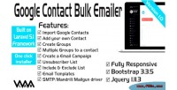 Google contact export bulk 5 laravel emailer