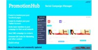 Hub promotion manager campaign social