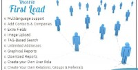 Incevio first lead contacts management lead and