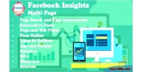 Insights facebook multi page
