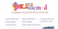 Instagram larasocmed auto accounts multi post