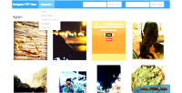 Instagram php class