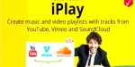 Iplay social network create share & playlists