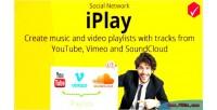 Iplay social network create share & playlists