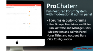 Laravel forum system full featured forum with moderation pa admin & laravel
