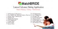 Laravel matchbride application dating advance