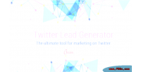 Lead twitter generator tool advanced marketing twitter