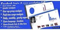 Login facebook user 1.0 script analytics