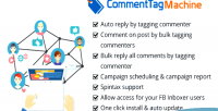 Machine commenttag a fb inboxer add for on tagging post commenters p facebook of