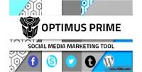 Media social marketing tool