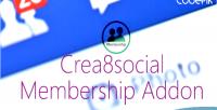 Membership crea8social addon