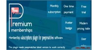 Memberships premium for peepmatches