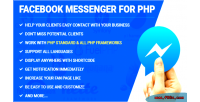 Messenger facebook for php