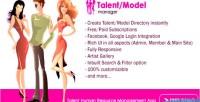 Model talent hr manager