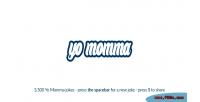 Momma random jokes script with 3 jokes 500 momma