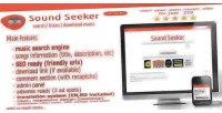 Music soundseeker search engine