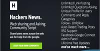 News hackers community script