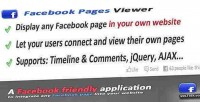 Pages facebook viewer