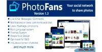 Photofans your social network photos share to