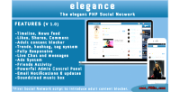 Php elegance script networking social