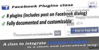 Plugins facebook class dialogs and