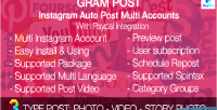 Post instagram auto post multi accounts integration paypal with post