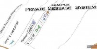 Private simple message system
